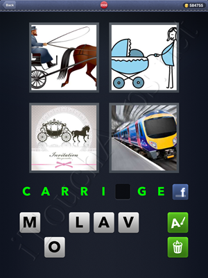 4 Pics 1 Word Level 2330 Solution