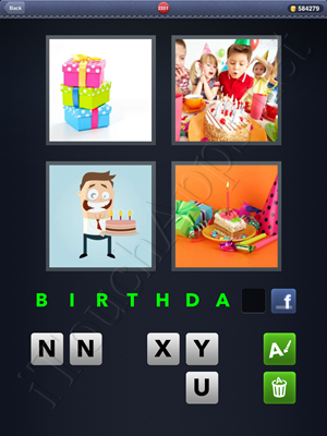 4 Pics 1 Word Level 2331 Solution