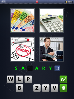 4 Pics 1 Word Level 2332 Solution