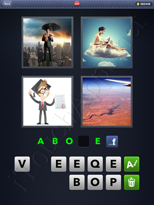 4 Pics 1 Word Level 2336 Solution