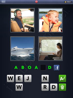 4 Pics 1 Word Level 2344 Solution