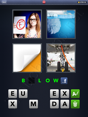 4 Pics 1 Word Level 2345 Solution