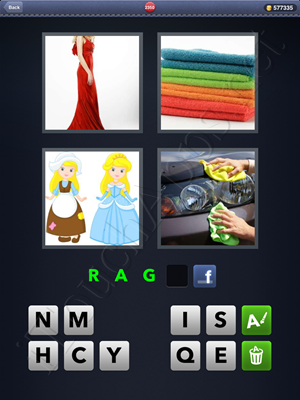 4 Pics 1 Word Level 2350 Solution