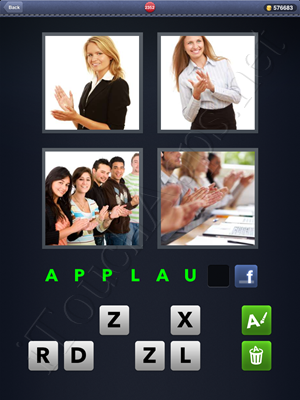 4 Pics 1 Word Level 2352 Solution