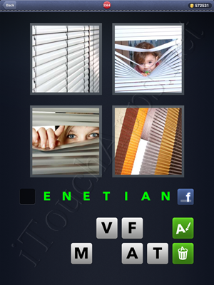 4 Pics 1 Word Level 2364 Solution