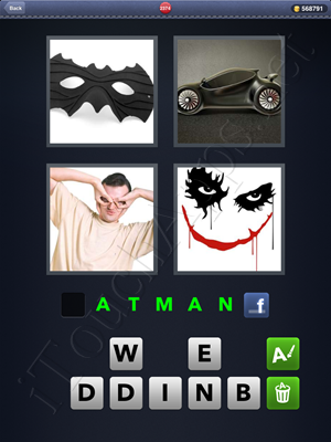 4 Pics 1 Word Level 2374 Solution
