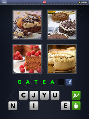 4 Pics 1 Word Level 2377 Solution