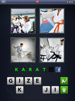 4 Pics 1 Word Level 2381 Solution