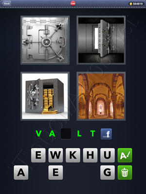 4 Pics 1 Word Level 2386 Solution