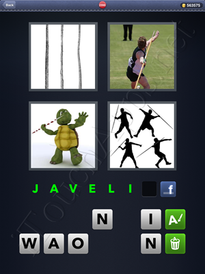 4 Pics 1 Word Level 2390 Solution