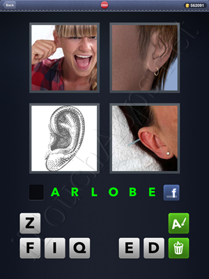 4 Pics 1 Word Level 2394 Solution