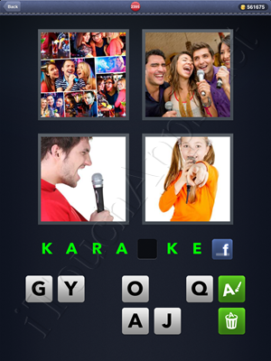 4 Pics 1 Word Level 2395 Solution