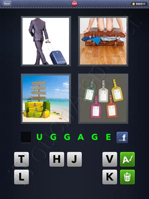 4 Pics 1 Word Level 2399 Solution