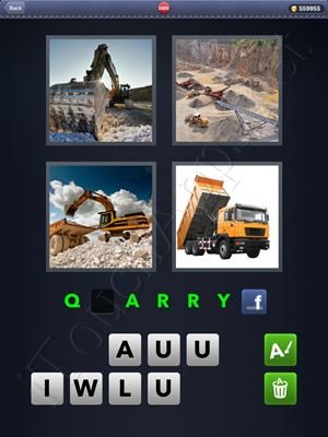 4 Pics 1 Word Level 2400 Solution