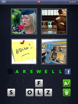 4 Pics 1 Word Level 2401 Solution