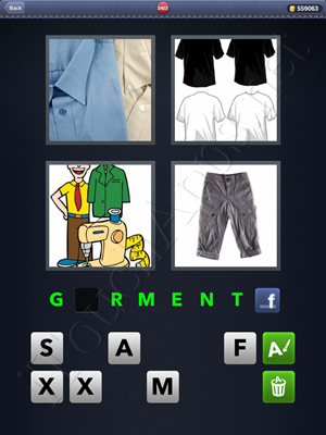 4 Pics 1 Word Level 2402 Solution