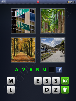 4 Pics 1 Word Level 2407 Solution