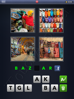 4 Pics 1 Word Level 2422 Solution