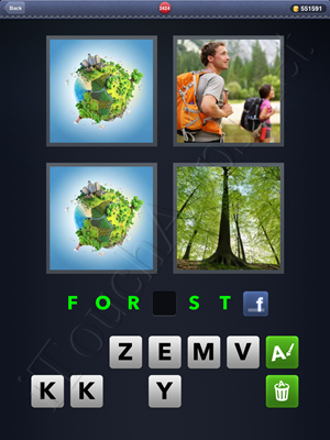 4 Pics 1 Word Level 2424 Solution