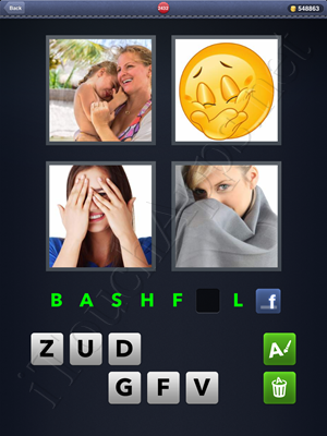 4 Pics 1 Word Level 2432 Solution