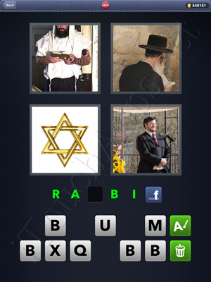 4 Pics 1 Word Level 2434 Solution