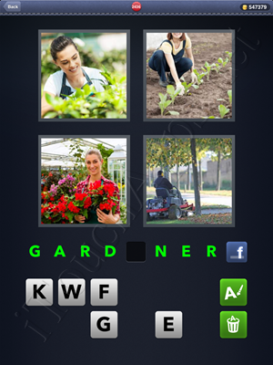 4 Pics 1 Word Level 2436 Solution