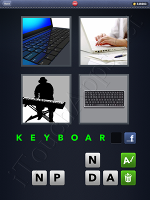 4 Pics 1 Word Level 2437 Solution