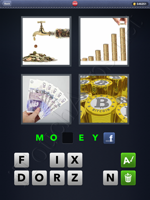 4 Pics 1 Word Level 2439 Solution
