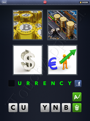 4 Pics 1 Word Level 2441 Solution