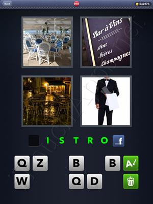 4 Pics 1 Word Level 2450 Solution