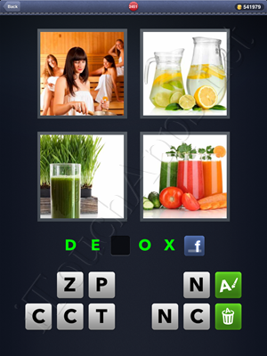 4 Pics 1 Word Level 2451 Solution