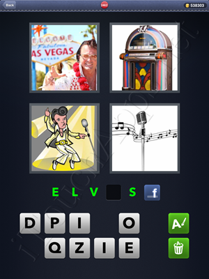 4 Pics 1 Word Level 2462 Solution