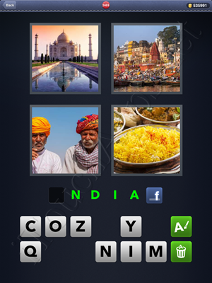 4 Pics 1 Word Level 2469 Solution