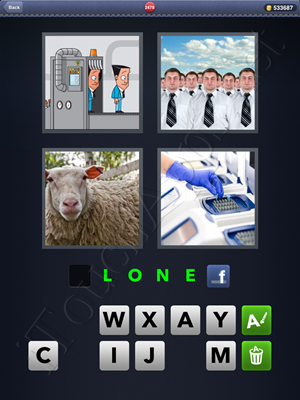 4 Pics 1 Word Level 2478 Solution
