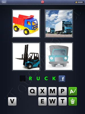 4 Pics 1 Word Level 2479 Solution