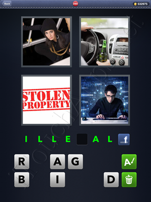 4 Pics 1 Word Level 2480 Solution