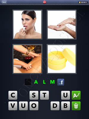 4 Pics 1 Word Level 2484 Solution
