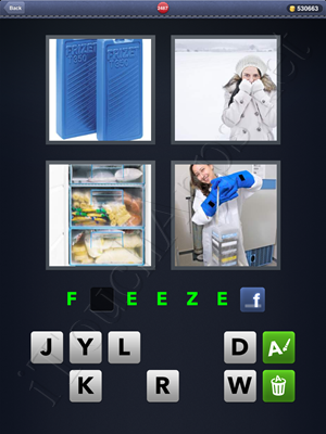 4 Pics 1 Word Level 2487 Solution