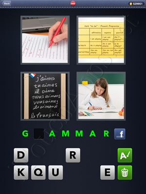 4 Pics 1 Word Level 2489 Solution