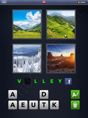4 Pics 1 Word Level 2494 Solution