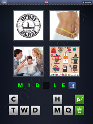 4 Pics 1 Word Level 2512 Solution
