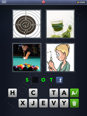 4 Pics 1 Word Level 2516 Solution