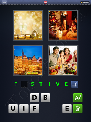 4 Pics 1 Word Level 2520 Solution