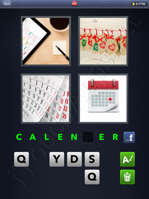 4 Pics 1 Word Level 2525 Solution