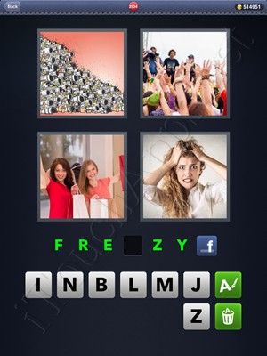 4 Pics 1 Word Level 2534 Solution