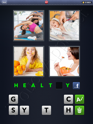 4 Pics 1 Word Level 2537 Solution