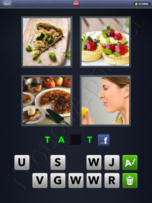 4 Pics 1 Word Level 2540 Solution