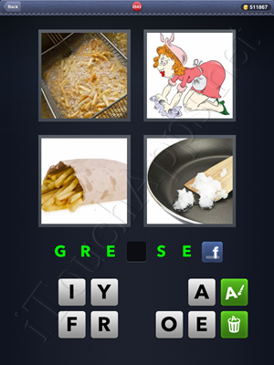 4 Pics 1 Word Level 2543 Solution