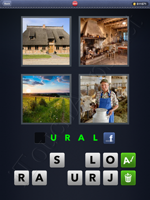 4 Pics 1 Word Level 2544 Solution