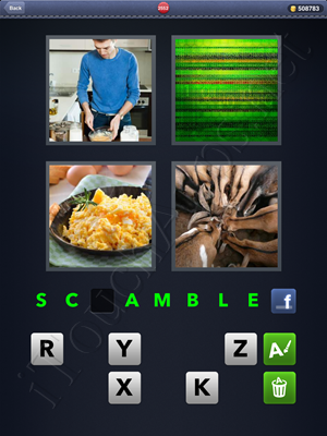 4 Pics 1 Word Level 2552 Solution
